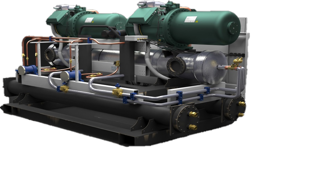 Sea Water-Cooled Chiller Unit